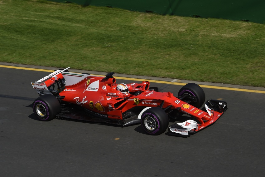 2017 Australian GP – Vettel clinches victory for Ferrari Image #634766