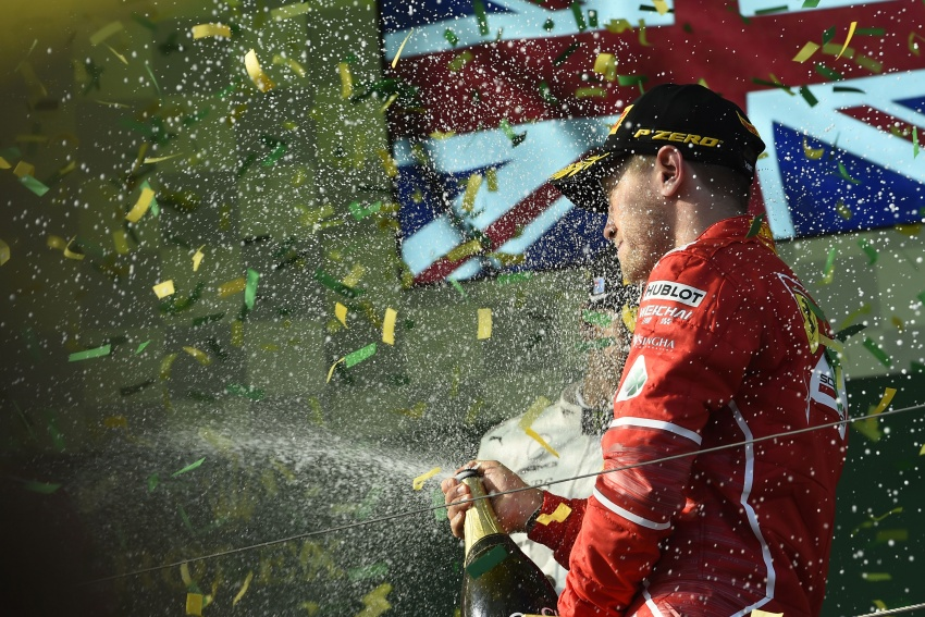 2017 Australian GP – Vettel clinches victory for Ferrari Image #634776