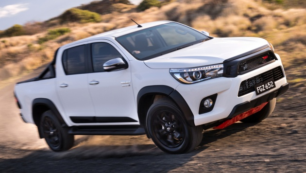 Toyota Hilux With Trd Accessories Now In Australia