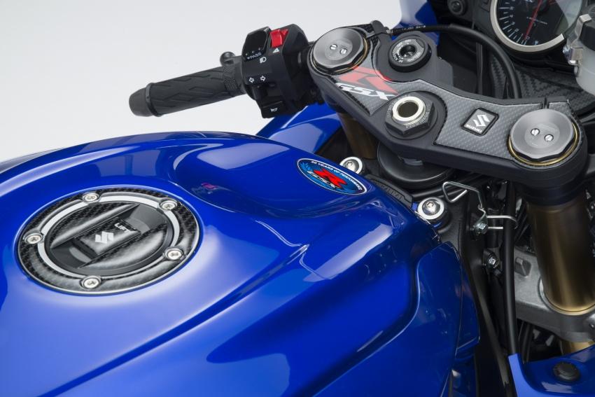Suzuki GSX-R750 preparing for a comeback in 2018? Image #631161