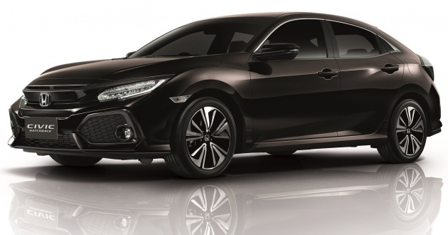 2017 Honda Civic Hatchback Launched In Thailand 1 5l Vtec Turbo