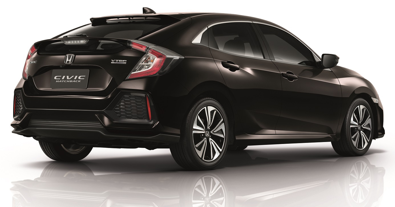 Honda Civic 2017 >> 2017 Honda Civic Hatchback launched in Thailand – 1.5L VTEC Turbo CVT only, priced at RM148k ...
