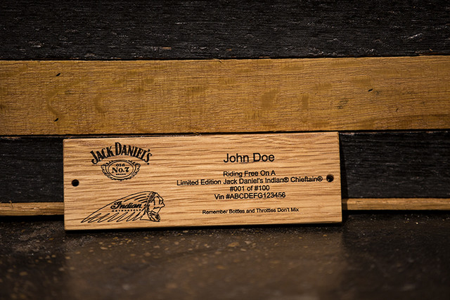 Indian Motorcycle and Jack Daniel's whiskey team up for Indian Chieftain limited edition – only 100 units Image #629793