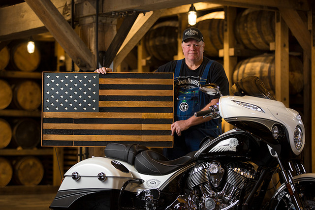 Indian Motorcycle and Jack Daniel's whiskey team up for Indian Chieftain limited edition – only 100 units Image #629794