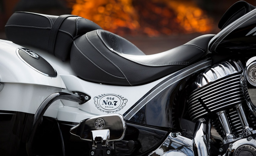 Indian Motorcycle and Jack Daniel's whiskey team up for Indian Chieftain limited edition – only 100 units Image #629800