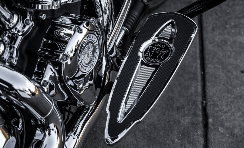Indian Motorcycle and Jack Daniel's whiskey team up for Indian Chieftain limited edition – only 100 units Image #629802