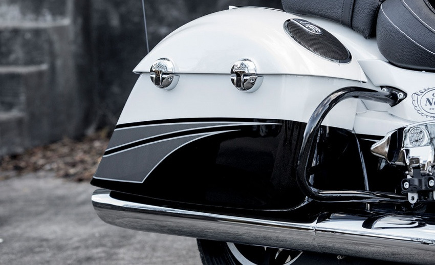 Indian Motorcycle and Jack Daniel's whiskey team up for Indian Chieftain limited edition – only 100 units Image #629805