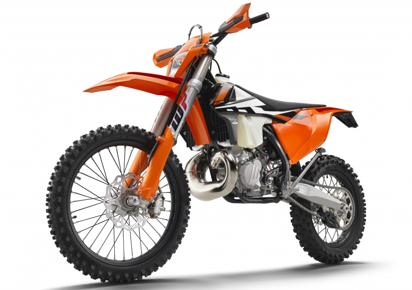 KTM unveils new two-stroke fuel injection engine Image #630472