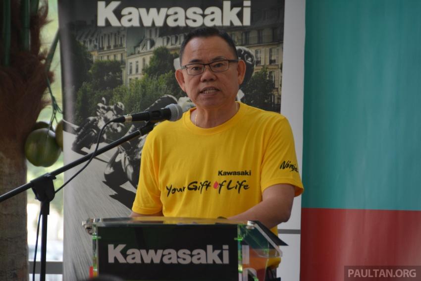 "200-plus bikers donate blood in Kawasaki ""Gift of Life"" Image #631485"