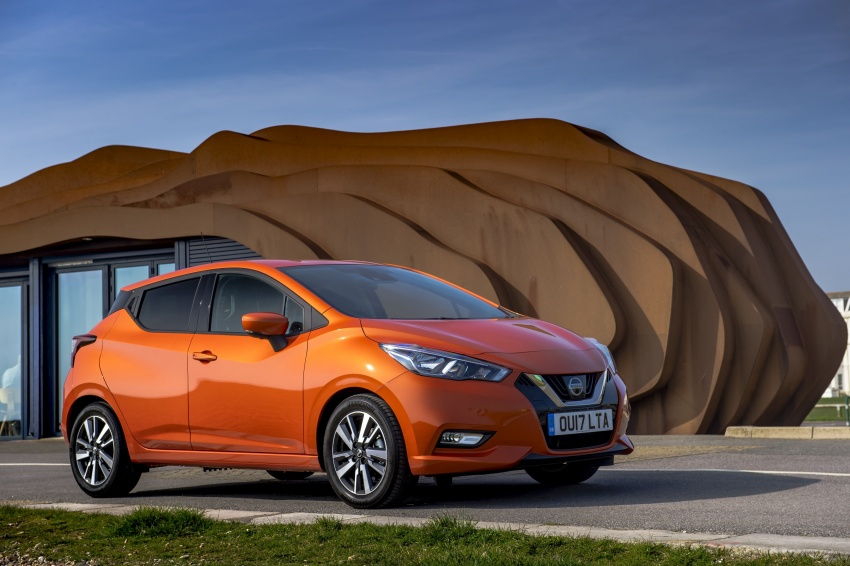 All-new Nissan March arrives in the UK, from RM66k Image #637859