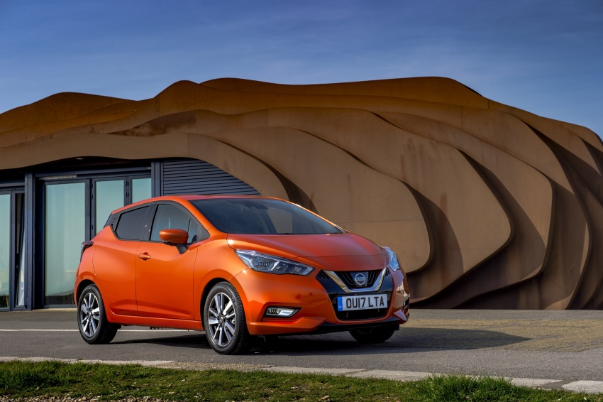 All-new Nissan March arrives in the UK, from RM66k Image #637860