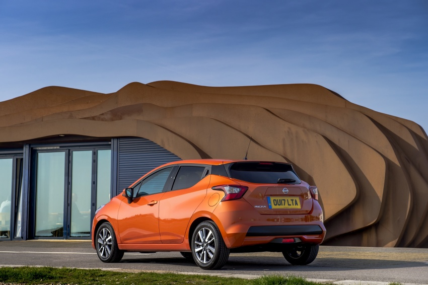 All-new Nissan March arrives in the UK, from RM66k Image #637864