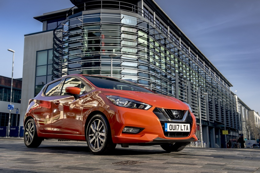 All-new Nissan March arrives in the UK, from RM66k Image #637849