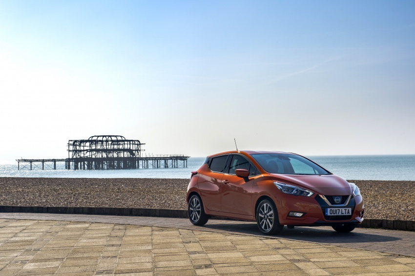 All-new Nissan March arrives in the UK, from RM66k Image #637874