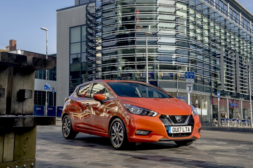 All-new Nissan March arrives in the UK, from RM66k Image #637850