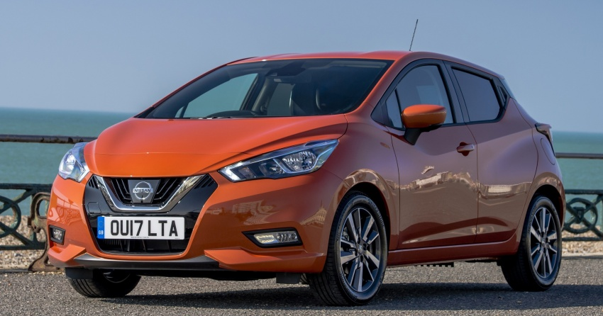 All-new Nissan March arrives in the UK, from RM66k Image #637881