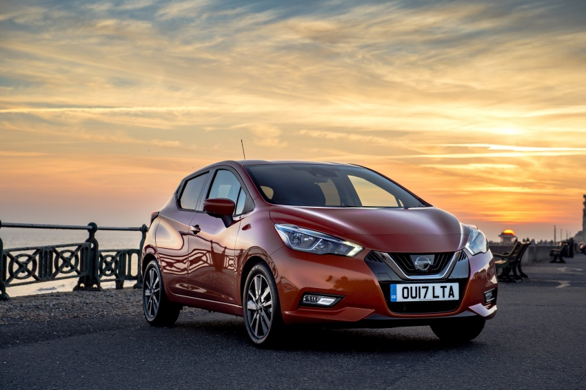 All-new Nissan March arrives in the UK, from RM66k Image #637884