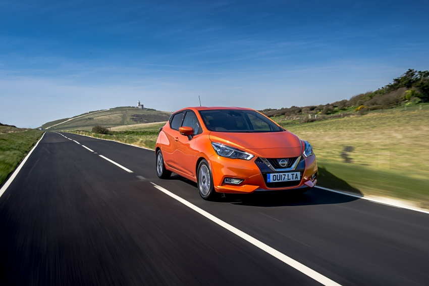 All-new Nissan March arrives in the UK, from RM66k Image #637888