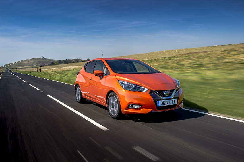 All-new Nissan March arrives in the UK, from RM66k Image #637889