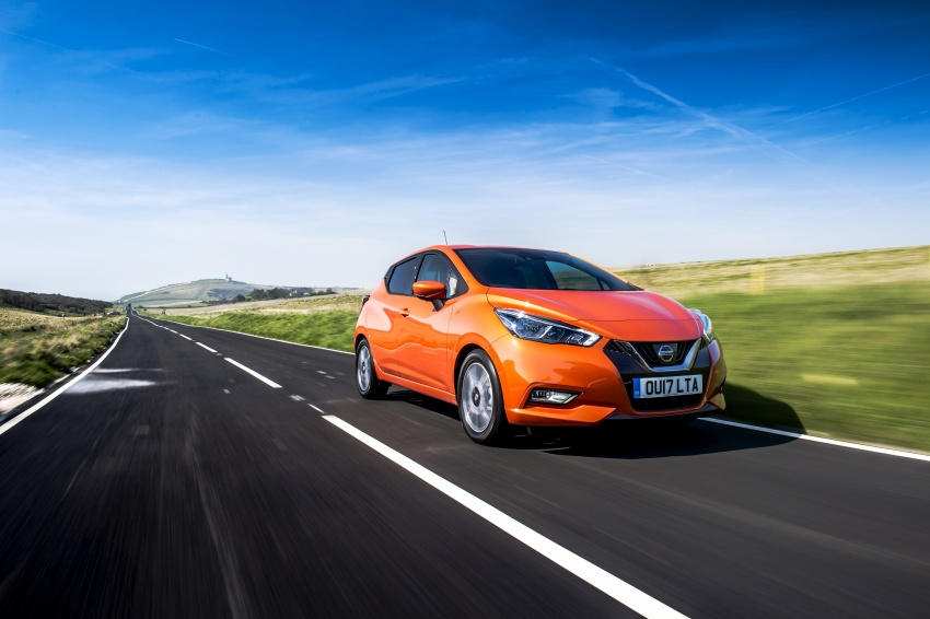 All-new Nissan March arrives in the UK, from RM66k Image #637890