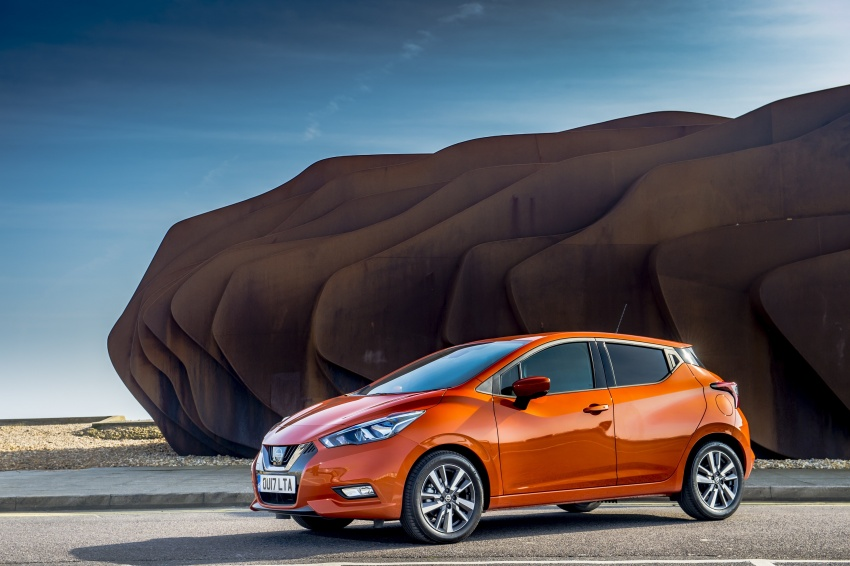 All-new Nissan March arrives in the UK, from RM66k Image #637854