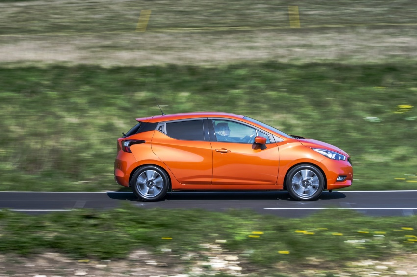 All-new Nissan March arrives in the UK, from RM66k Image #637912