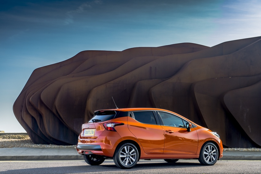 All-new Nissan March arrives in the UK, from RM66k Image #637856
