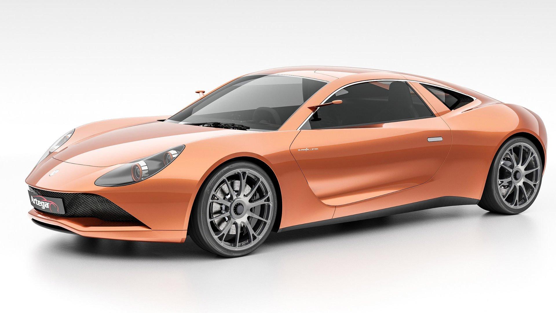 Electric Car Range >> Artega Scalo Superelletra – 1,020 hp, all-electric three-seater supercar with a 500 km operating ...