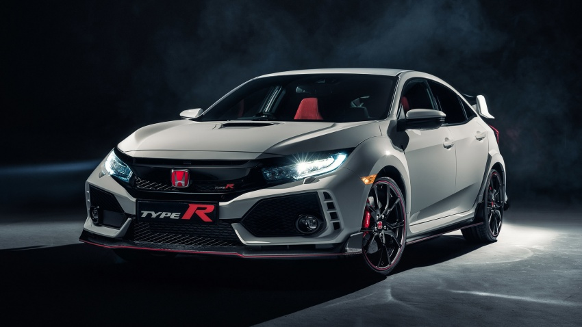 Honda Civic Type-R 2017 akhirnya didedahkan – 2.0 liter VTEC Turbo, 320 PS/400 Nm, suspensi lebih jitu Image #625374