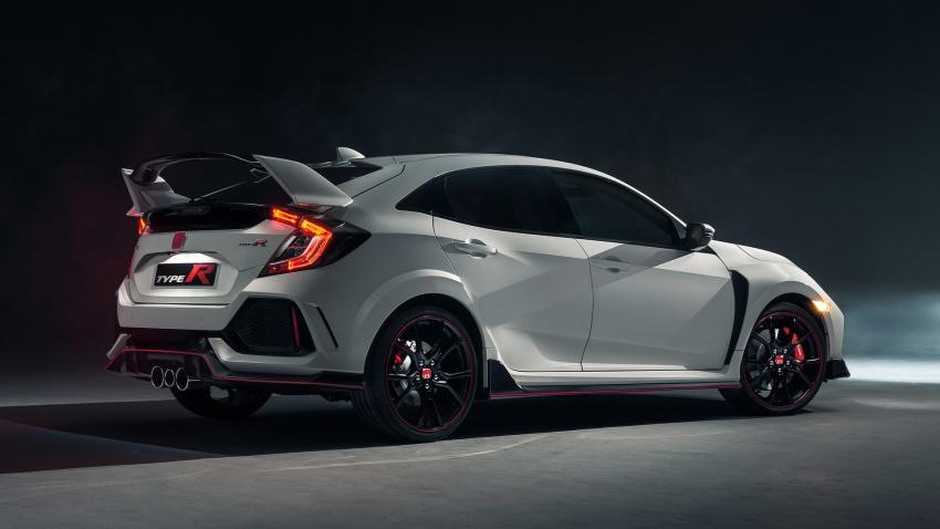 Honda Civic Type R 2017 Akhirnya Didedahkan 2 0 Liter