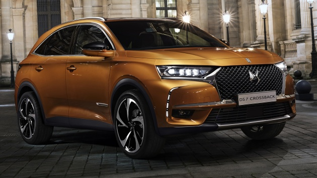 ds7 crossback unveiled x3 rival bound for geneva. Black Bedroom Furniture Sets. Home Design Ideas