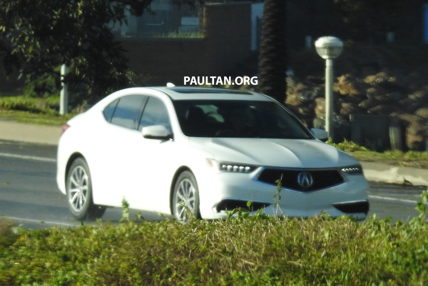 2018 Acura TLX teased ahead of New York reveal Image #637090