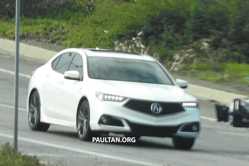 2018 Acura TLX teased ahead of New York reveal Image #637099