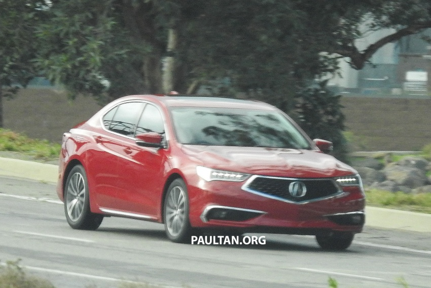 2018 Acura TLX teased ahead of New York reveal Image #637100