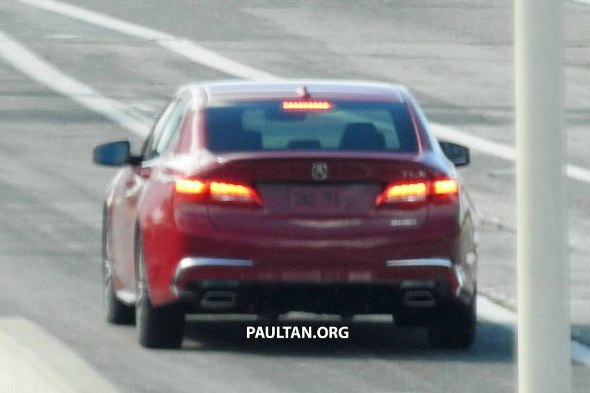 2018 Acura TLX teased ahead of New York reveal Image #637101