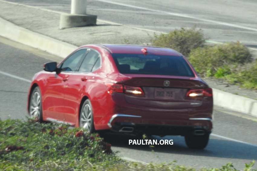 2018 Acura TLX teased ahead of New York reveal Image #637102