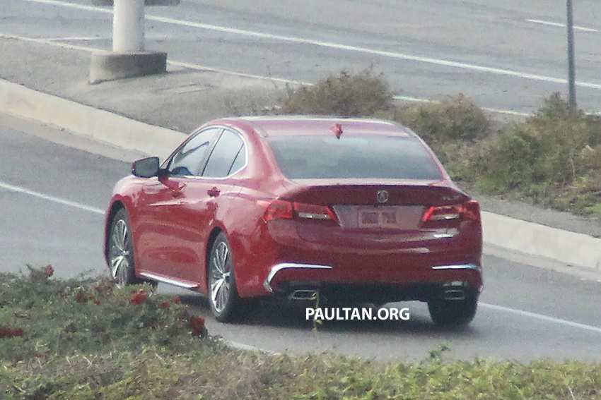 2018 Acura TLX teased ahead of New York reveal Image #637104
