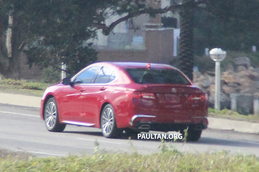 2018 Acura TLX teased ahead of New York reveal Image #637105