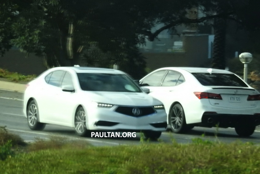 2018 Acura TLX teased ahead of New York reveal Image #637093