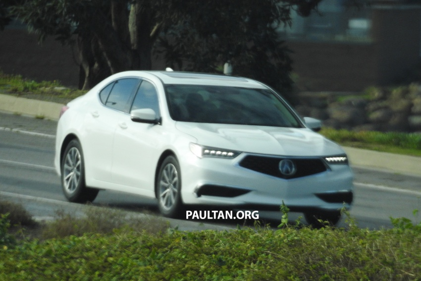 2018 Acura TLX teased ahead of New York reveal Image #637095
