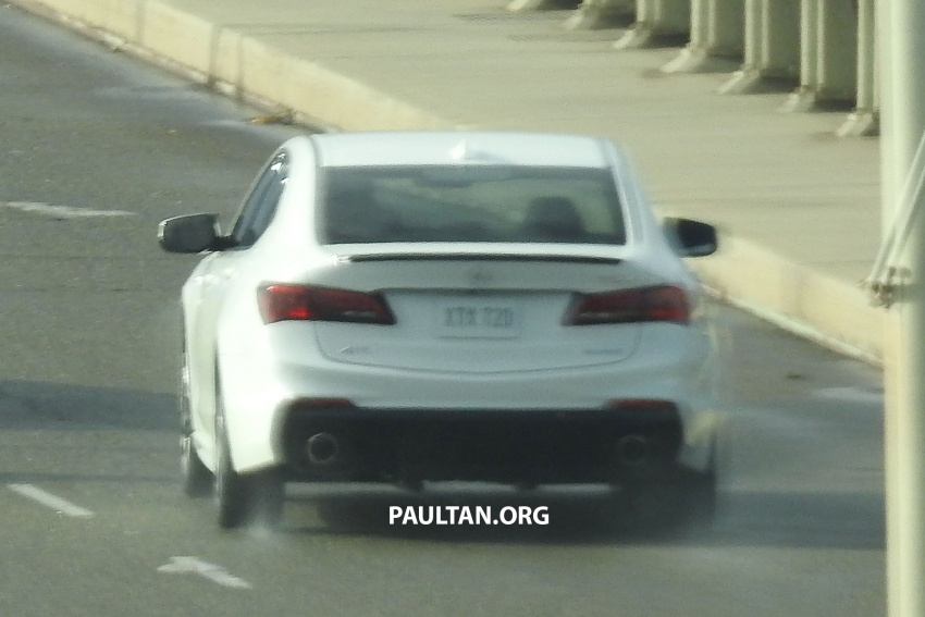 2018 Acura TLX teased ahead of New York reveal Image #637096