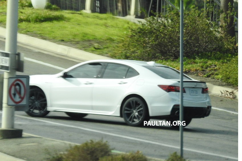 2018 Acura TLX teased ahead of New York reveal Image #637098