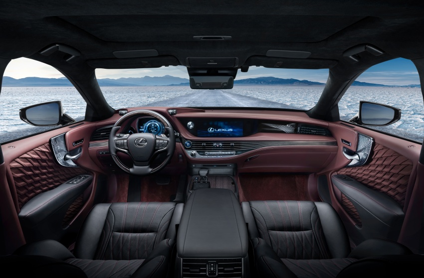 Lexus LS 500h officially debuts at Geneva Motor Show Image #625543