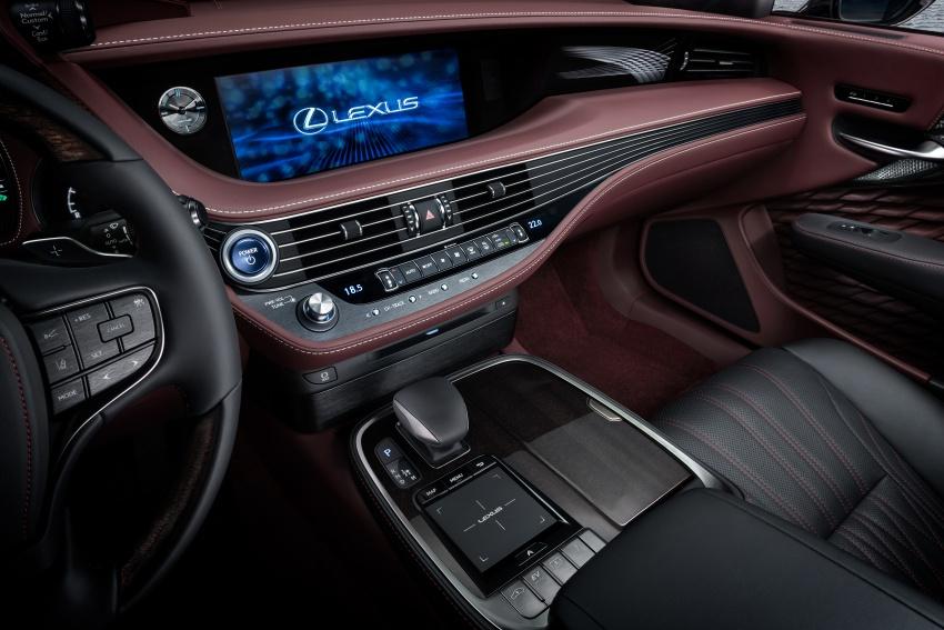 Lexus LS 500h officially debuts at Geneva Motor Show Image #625548