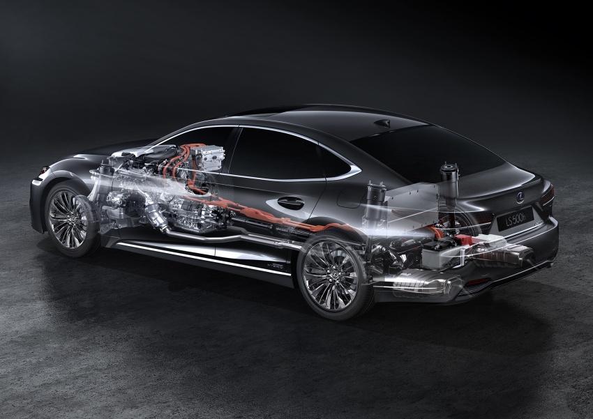 Lexus LS 500h officially debuts at Geneva Motor Show Image #625560