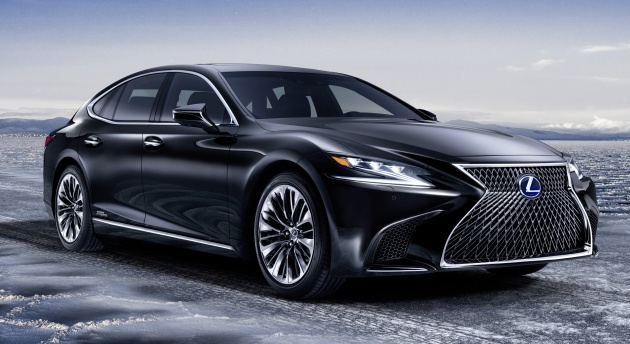 2018 Lexus Ls Order Books Open In Malaysia Three Variants Priced