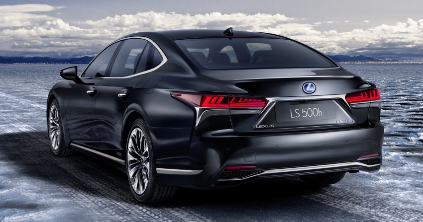 Lexus LS 500h officially debuts at Geneva Motor Show Image #625539