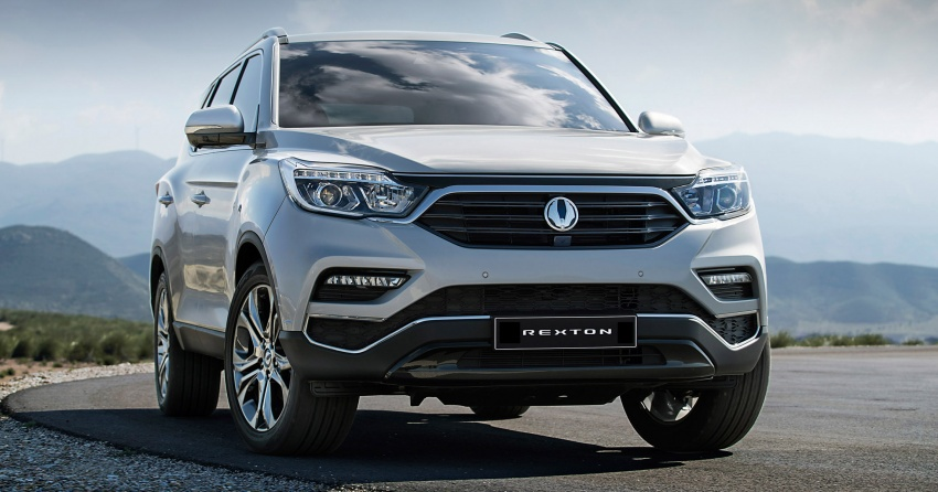 2018 SsangYong Rexton – first official images released Image #635719