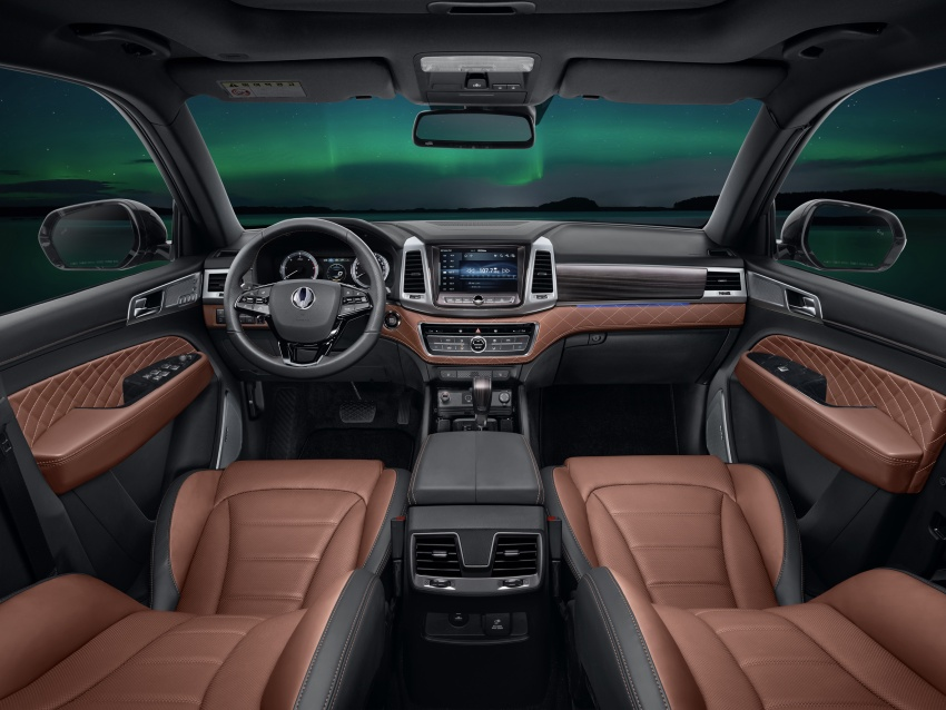 2018 SsangYong Rexton – first official images released Image #635720