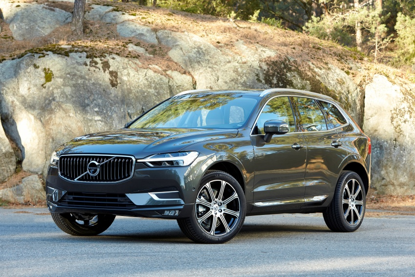 2018 volvo xc60 unveiled 407 hp t8 plug in hybrid image 625856. Black Bedroom Furniture Sets. Home Design Ideas